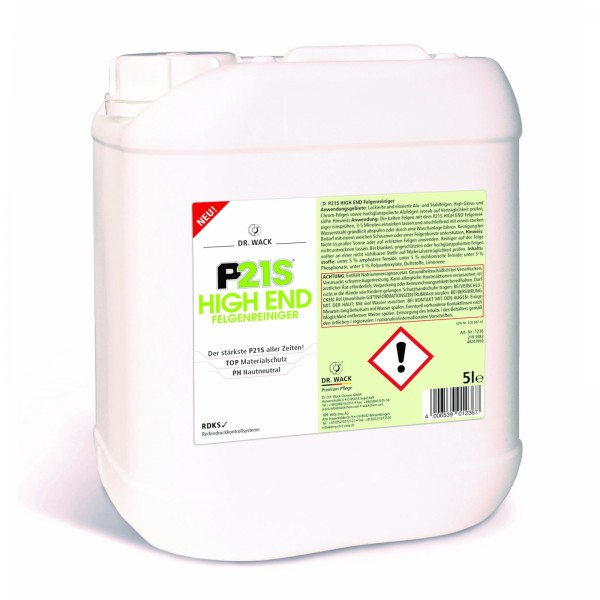 P21S HIGH END Felgenreiniger 5 Liter von #92323