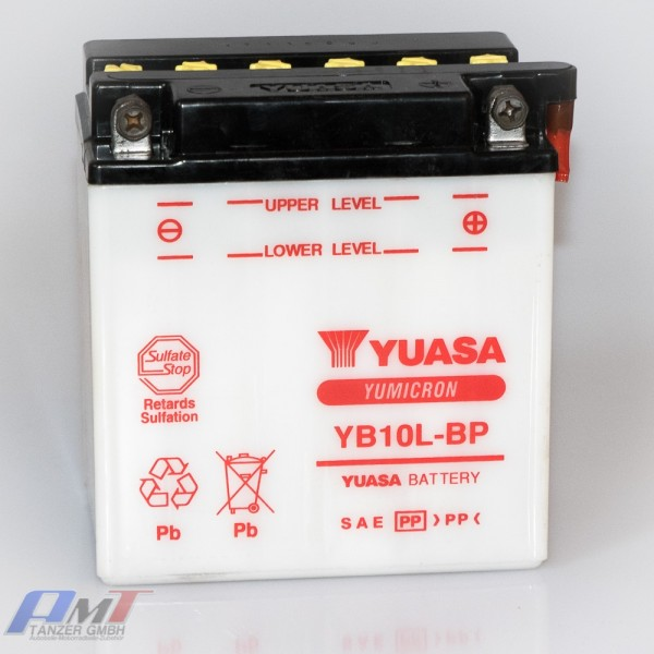 Yuasa Batterie YB10L-BP 12V 12AH #7381