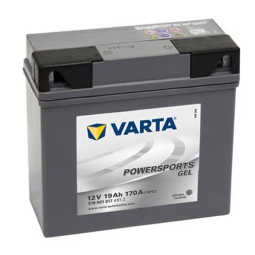 VARTA 519901 MOTARRADBATTERIE-Powersports Gel-12V-19AH-170 ELEKTRIK MOTORRADTEILE