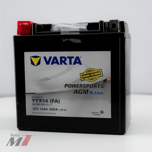Varta Batterie YTX14 (FA) 12V 12Ah 200A  #96312