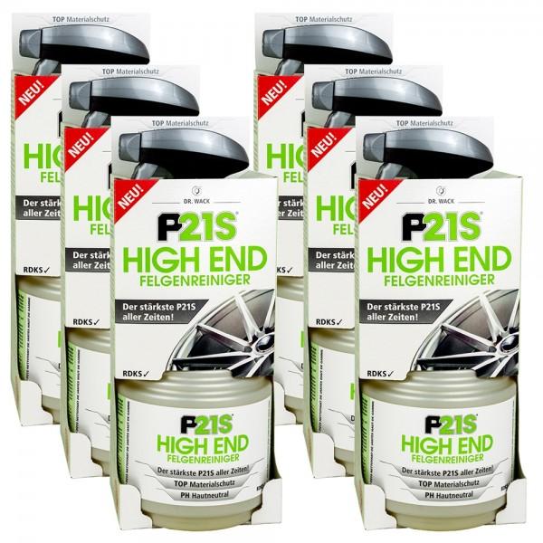 6x P21S HIGH END Felgenreiniger 750 ml v #100434
