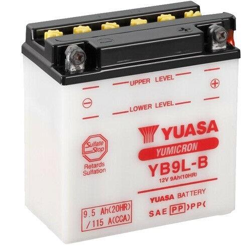 Yuasa Batterie YB9L-B 12V 9,5 AH 115 A #248629