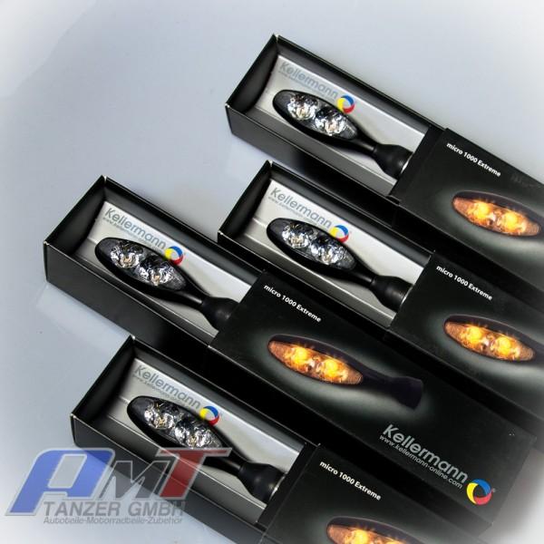 LED Kellermann 4x Blinker 1000 Micro Extreme schwa #Array