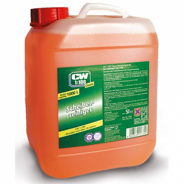 CW1:100 Classic SCheibenreiniger 5 Liter #drok-1730_1