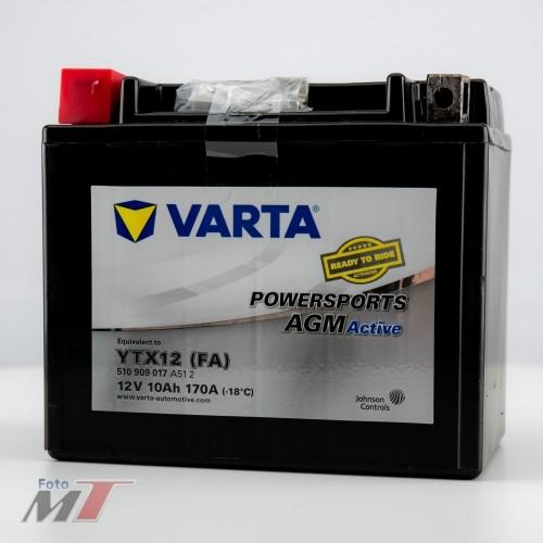 Varta Batterie YTX12 (FA) 12V 10Ah 170A  #96311