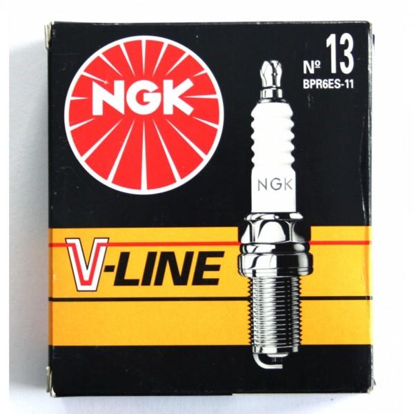 6 NGK Z/ÜNDKERZEN SET V-LINE 37