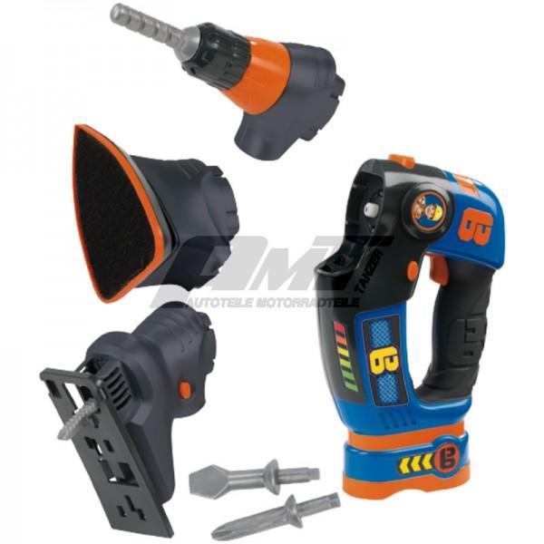 "Smoby Elektr. 3 in 1 Werkzeug ""Bob der B #50178"
