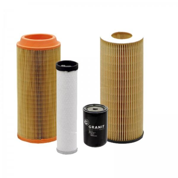 Granit Filtersatz 5 Luftfilter Motoroelf #108455
