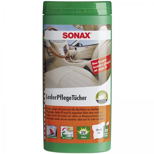 SONAX 04123000  LederPflegeTuecher Box 2 #18318