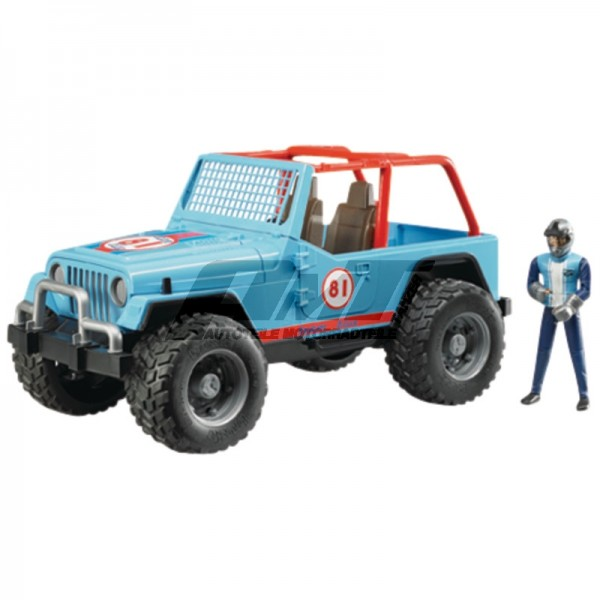 Bruder 02541 - Jeep Cross Country Racer  #50669
