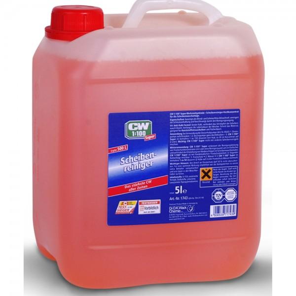 CW1:100 Super Scheibenreiniger 5 Liter 1 #drok-1743_1